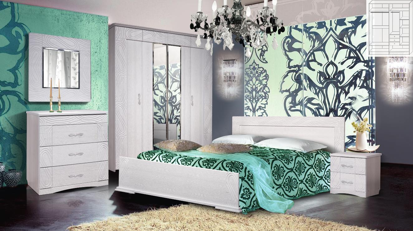 Модульная спальня Нимфа фото