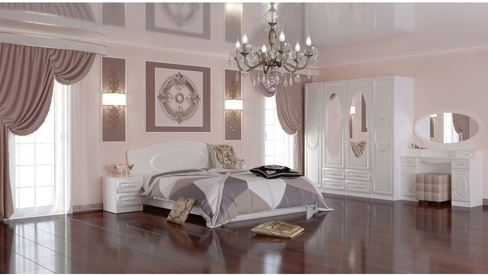 Модульная спальня Жемчуг