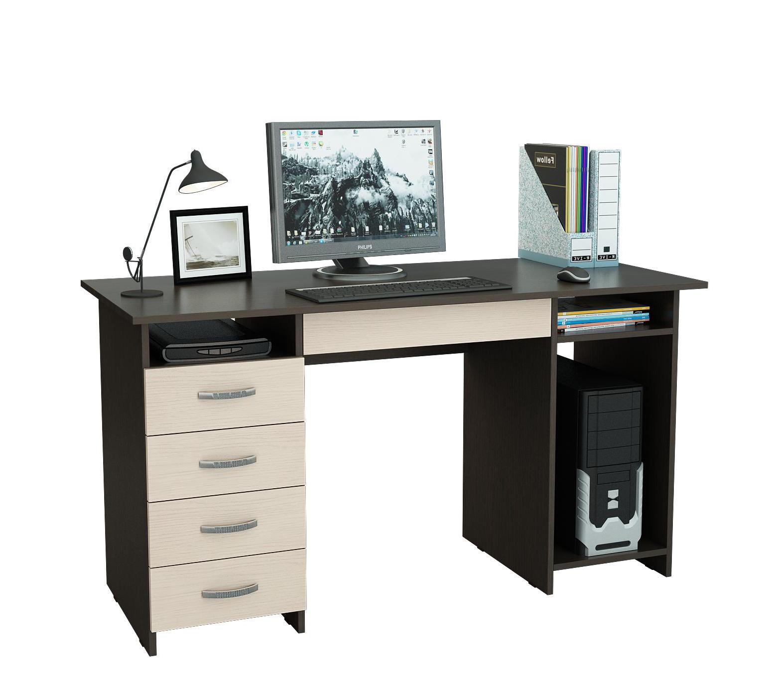 Компьютерный стол Милан-6Я NEW