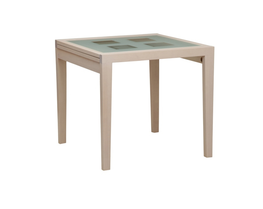 Стол обеденный раздвижной со стеклом фото