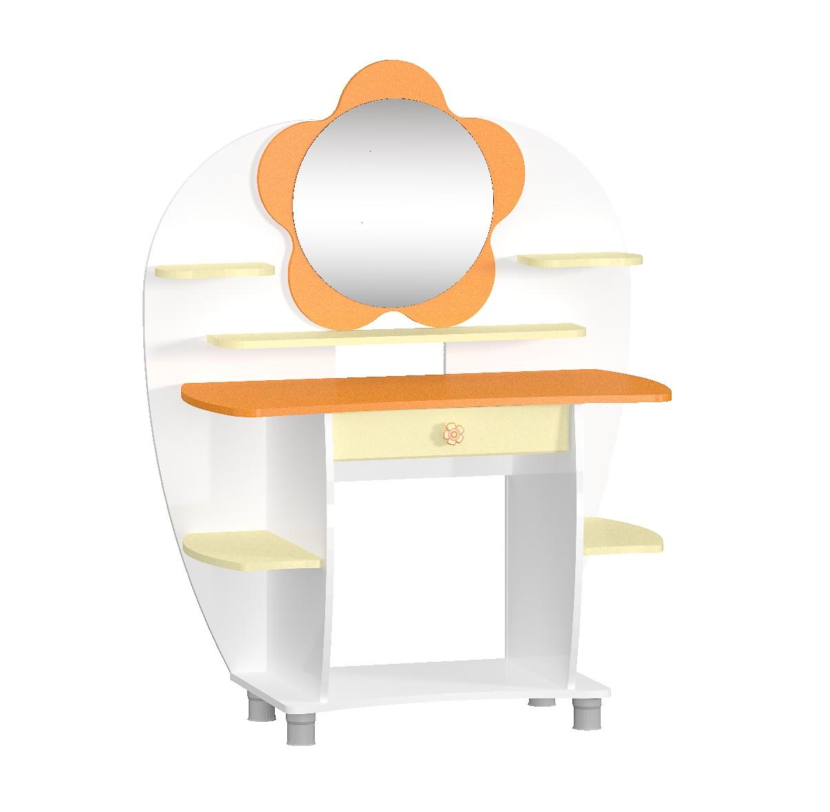 Столик туалетный Настенька с зеркалом