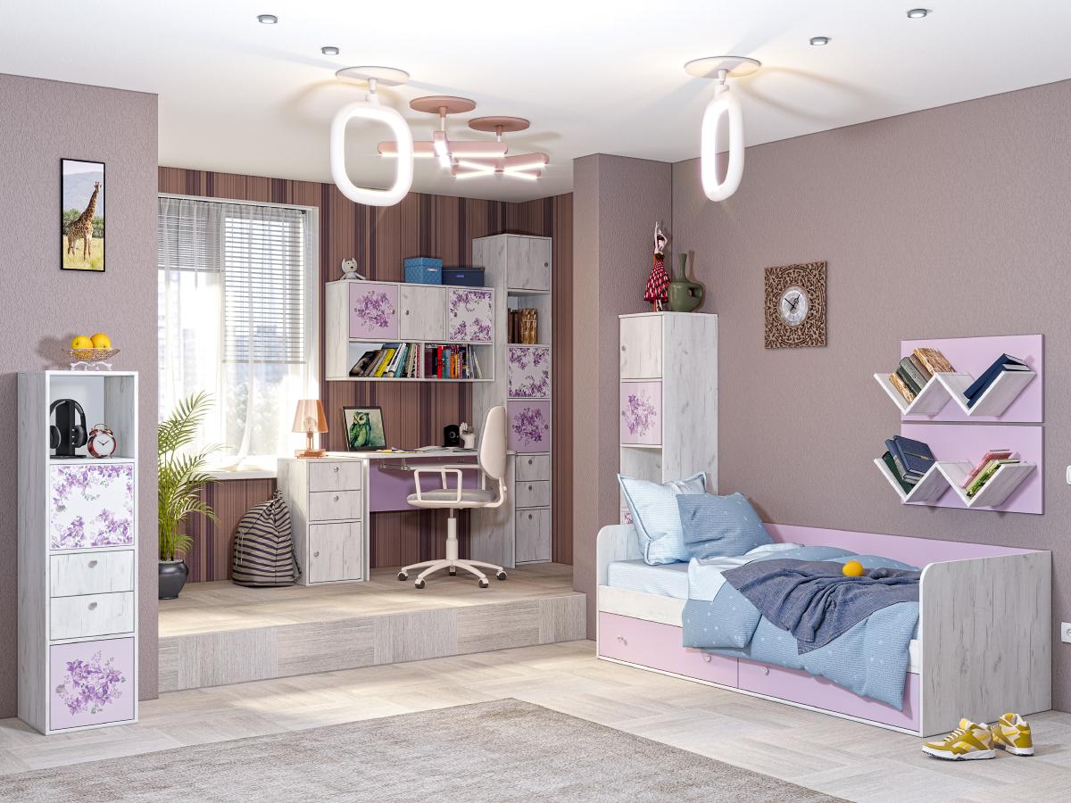 Детская модульная комната Тетрис 2