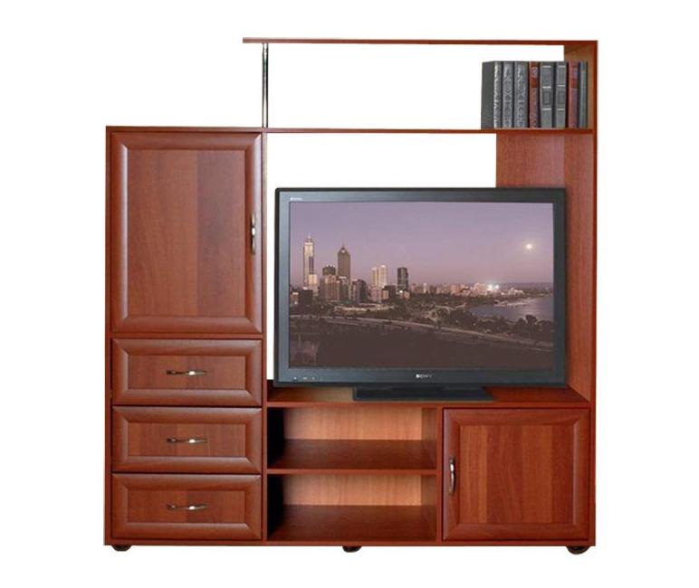Тумба под телевизор ТВ-2 с ящиками — Тумба под ТВ-2 с ящиками