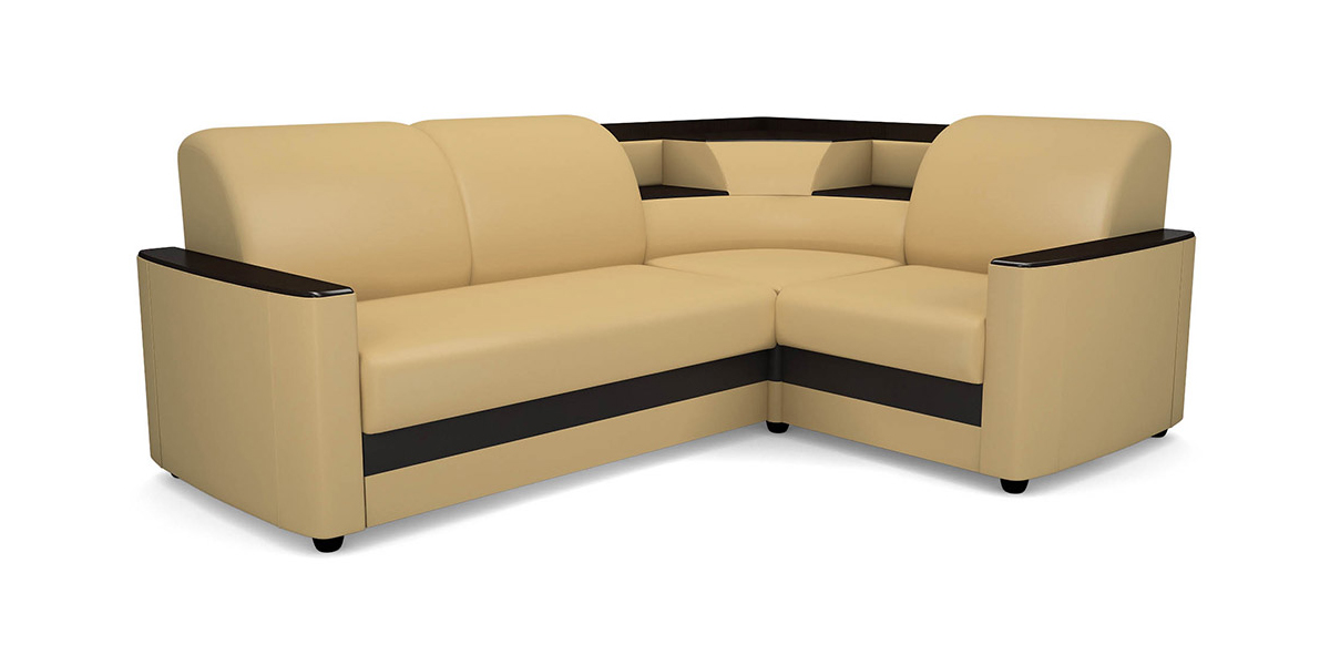 Угловой диван Виза 08 с баром