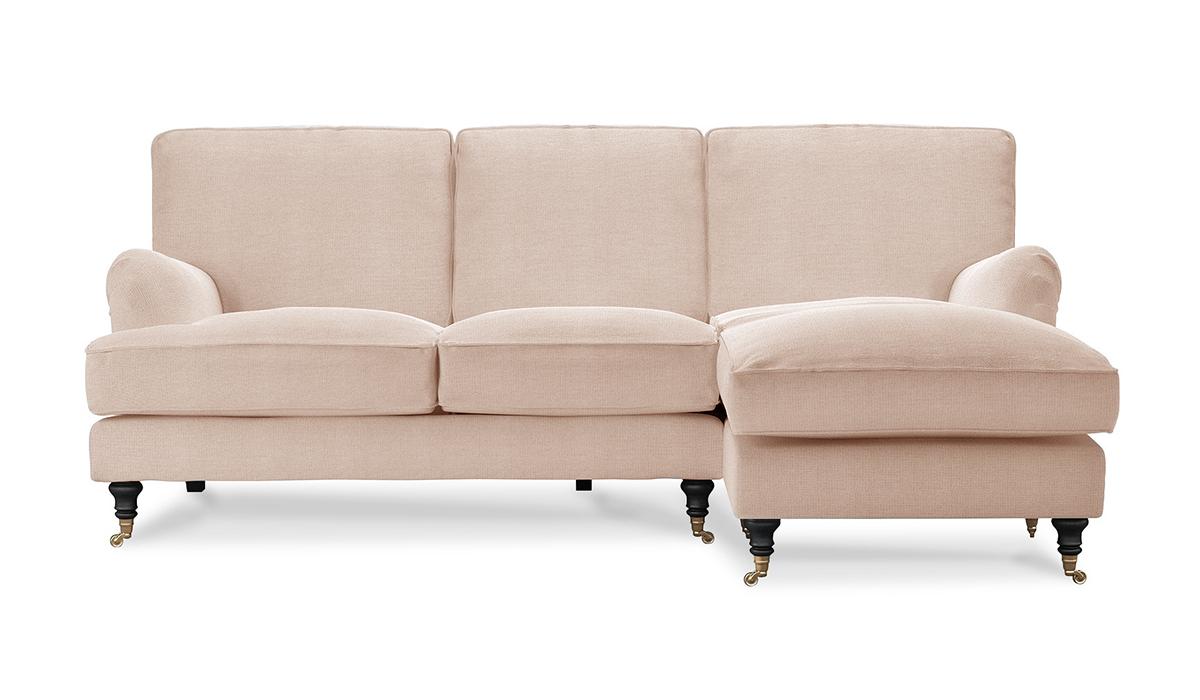 Угловой диван с оттоманкой Бристоль
