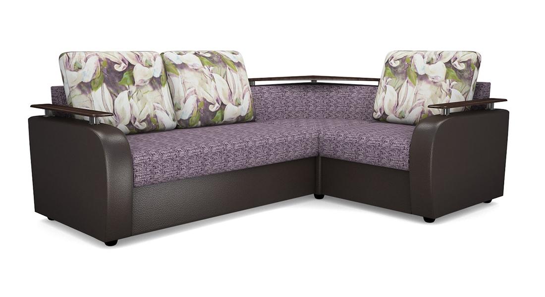 Угловой диван Виза 03 СП с баром фото