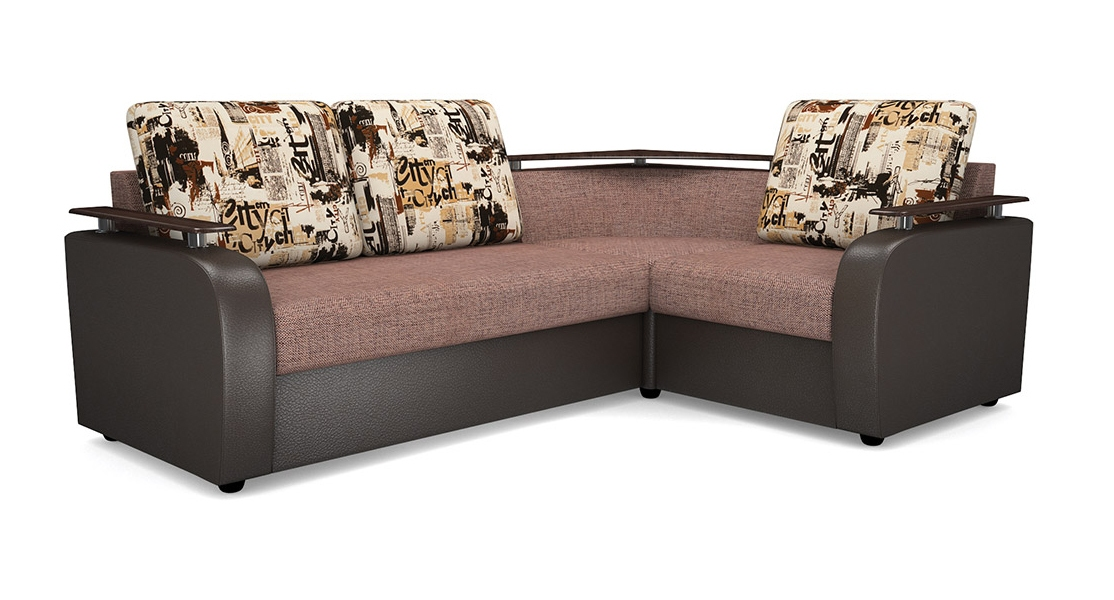 Угловой диван с баром картинки
