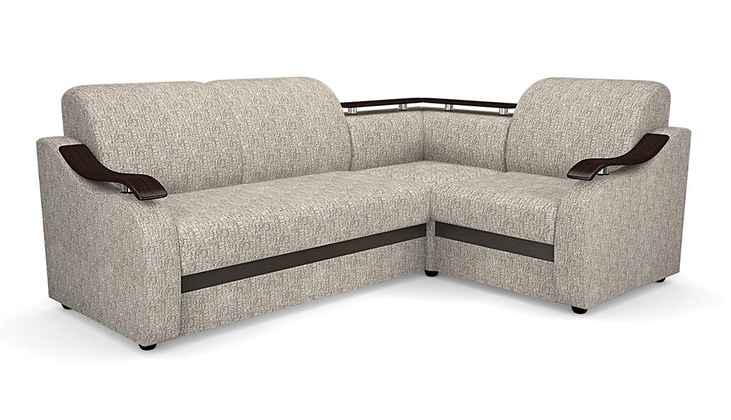 Угловой диван Виза 04 с баром фото