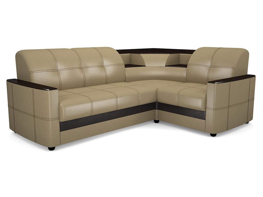 Угловой диван Виза 08 П с баром фото