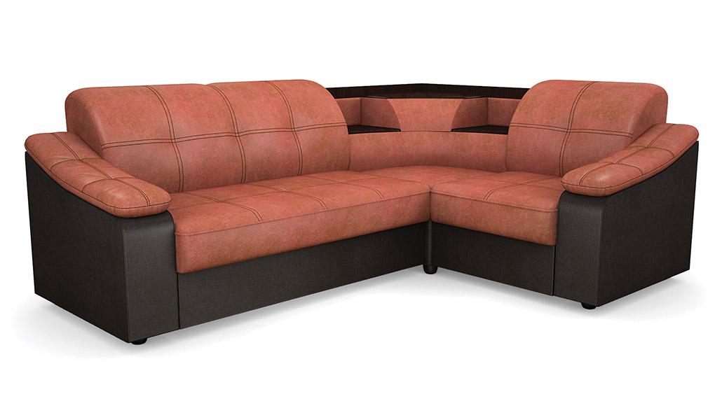 Угловой диван Виза 09 П с баром фото