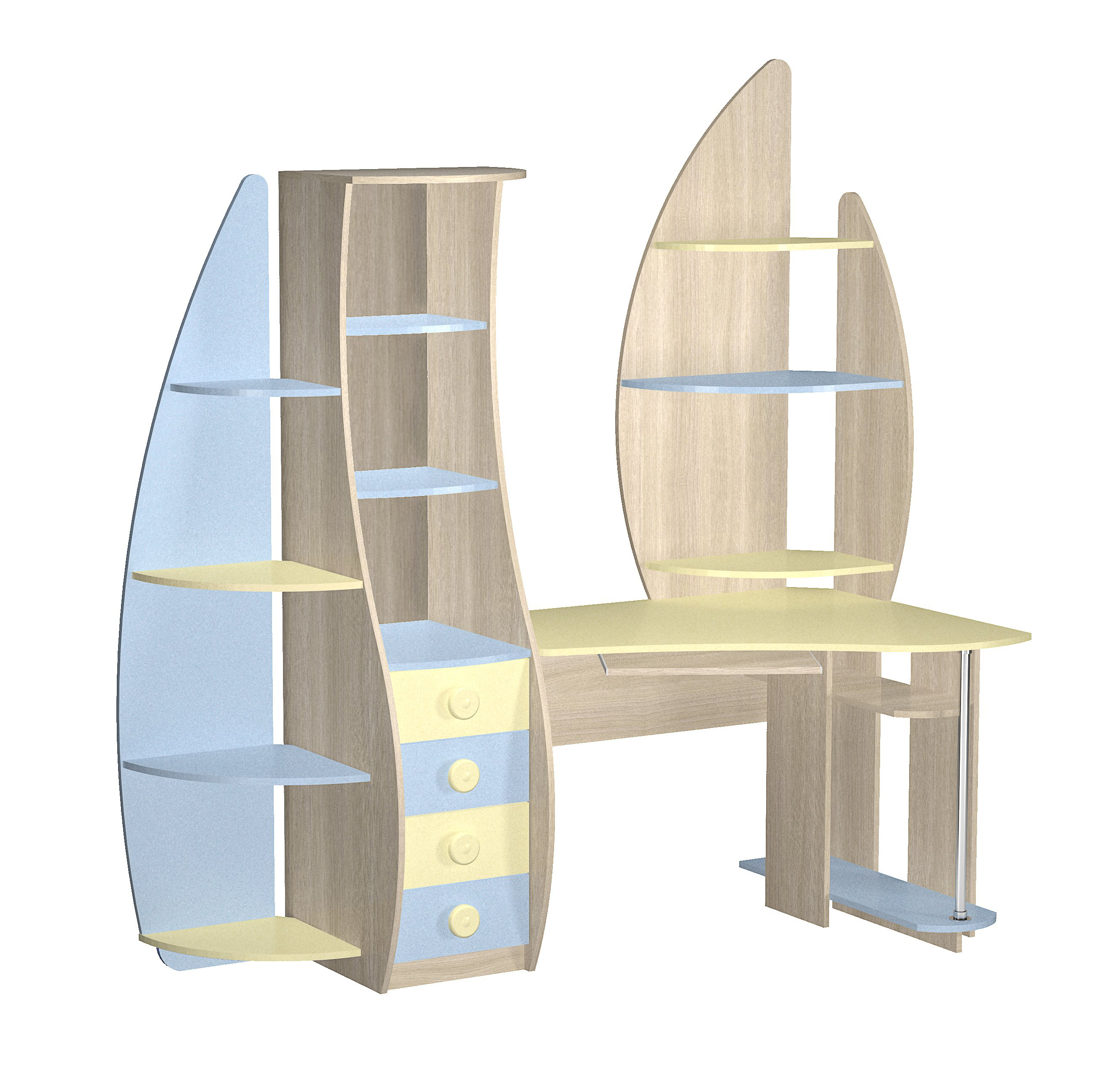 Компьютерный стол (угловой) Юнга