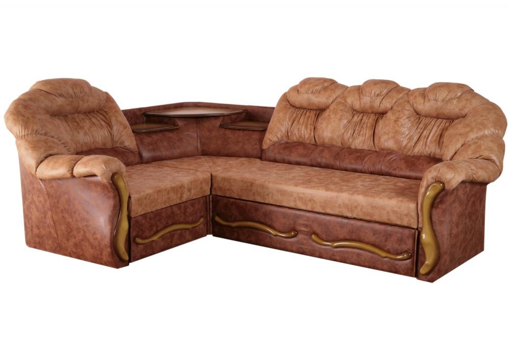 Угловой диван Мираж с полкой — Угловой диван Мираж (с полкой)