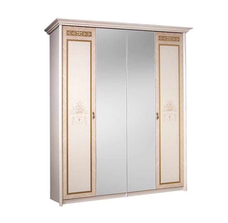 Шкаф четырёхстворчатый Карина-3